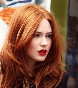 Meche Blond Doré : couleur de cheveux blond dore cuivre coiffures modernes ~ Nature-et-papiers.com Idées de Décoration