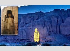 Chinese millionaires create hologram of Afghan Buddha