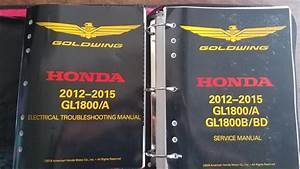 Honda Goldwing Service Manual Ho61mca66  Must Have Product