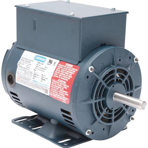 Elec Motors by Leeson Air Compressor Electric Motor 2 Hp Model 116512