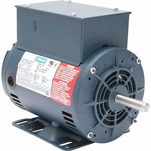 Leeson Air Compressor Electric Motor  U2014 2 Hp  Model  116512