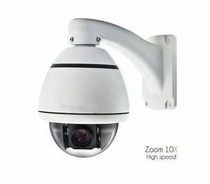 Caméra High Speed motorisée, surveillance intérieure, zoom ...