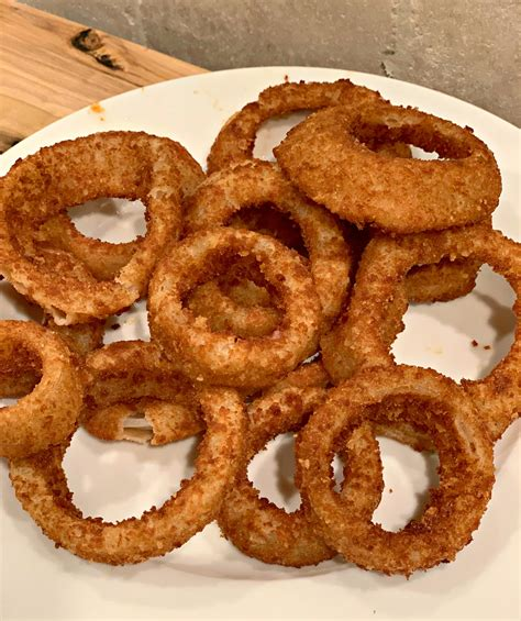 onion rings air fried crispy fryer recipe recipes fries french thecookinchicks five cookin chicks