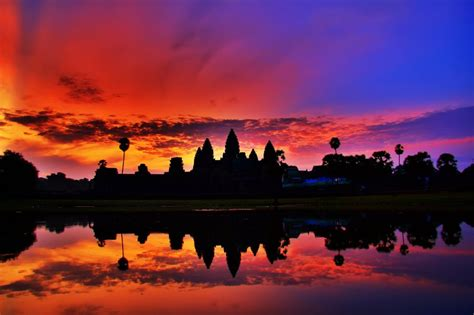 Angkor Wat At Sunrise Photo