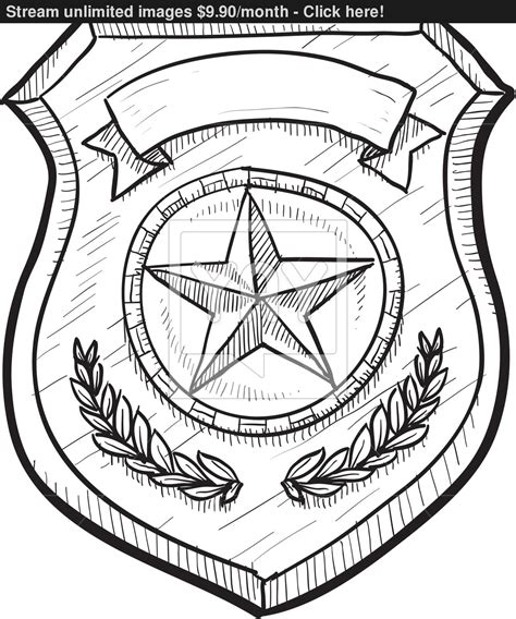 how to draw a fireman badge template