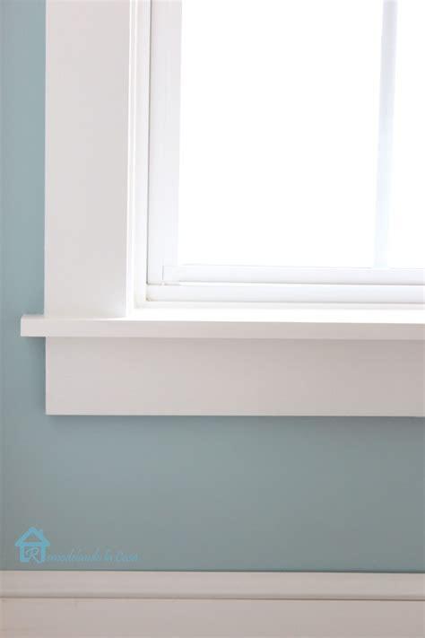 Window Stool by How To Install Window Trim Pretty Handy