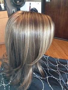 Brown Hair With Light Ash Highlights Brown Hair With Highlights And Lowlights Back To Post