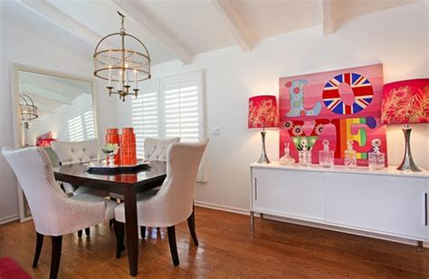 How To Easily Mix Patterns In The Dining Room