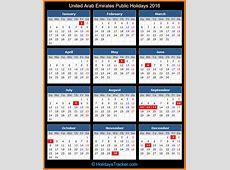United Arab Emirates Public Holidays 2016 – Holidays Tracker