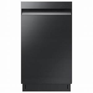 Samsung 18 In  Top Control Dishwasher In Fingerprint