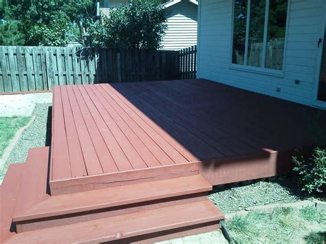 deck finished  sherwin williams deckscapes color