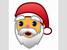Father Christmas Emoji for Facebook, Email & SMS ID
