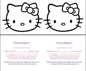 Hello Kitty Printable Templates