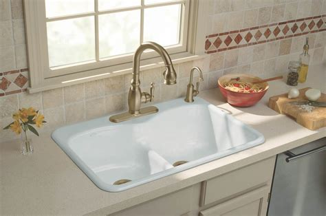 Big White Kitchen Sink by Kitchen Sink Designs With Awesome And Functional Faucet