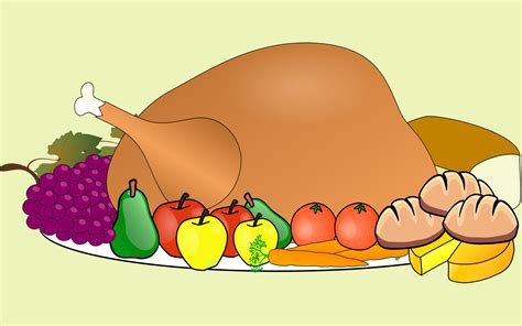 clipart cuisine thanksgiving food clipart clipart best