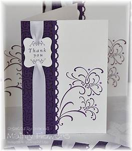 Mainly flowers independent stampin39 up demonstrator for Wedding gift thank you cards