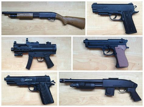 Can you tell real guns from fakes? Take our video quiz ...