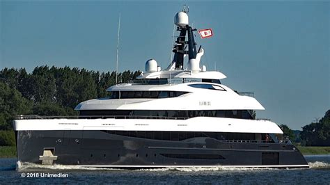 Yacht Elandess by Elandess Mega Yacht Maiden Voyage To Handover From