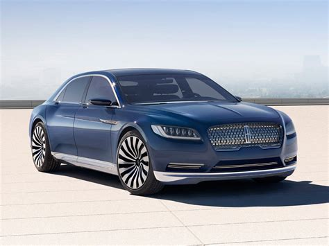 lincoln continental lincoln continental concept graces 2015 new york auto show