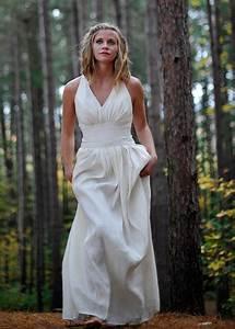 goddess wedding dress athena by tara lynn bridal With hemp wedding dress