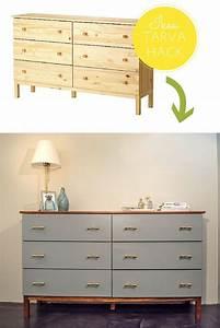 Ikea Tarva Kommode : ikea tarva hack mid century inspired ikea tarva makeover m bel umgestaltung in 2018 ~ Markanthonyermac.com Haus und Dekorationen