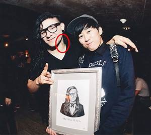 Sonny got a new tattoo :3 | We Heart It | skrillex