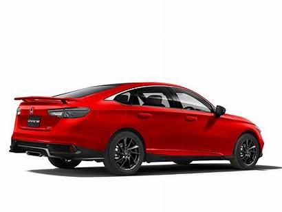 2022 Civic Honda Si Rendering Hdmi Exhaust