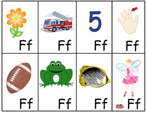 preschool alphabet flash cards abc animals flash cards 732 | Flash Cards F
