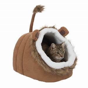 Niche Petit Chien : lion niche pour chat et petit chien zooplus ~ Melissatoandfro.com Idées de Décoration