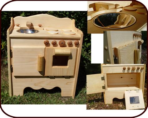 Waldorf Play Kitchen Natural Solid Wood Toys Made Usa