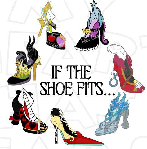 shoe fits disney villain shoes instant