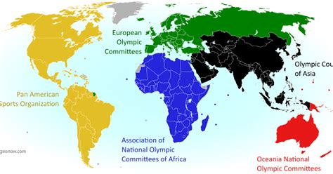 Parade Of Nations Which Countries Are (and Aren't) In The