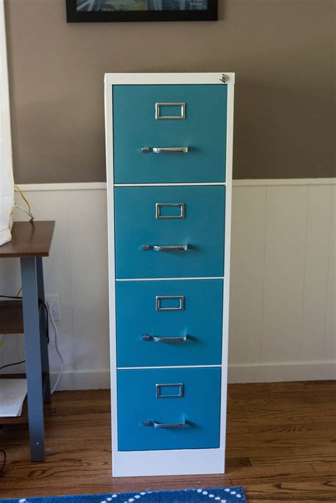 diy file cabinet makeover how to paint and makeover a metal file cabinet rose