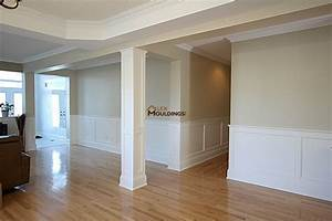 WALL PANELS WAINSCOTING - Raised Recessed Flat