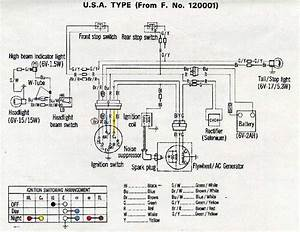 1969 Honda Z50 Wiring Diagram