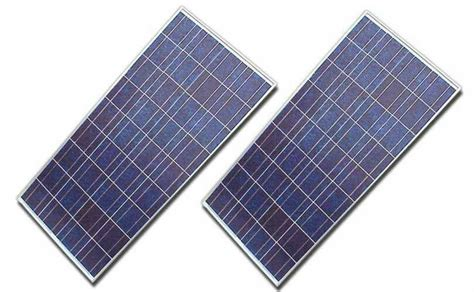 two used kyocera 120 watt 12 volt solar panel panels 120watts w pv working ebay