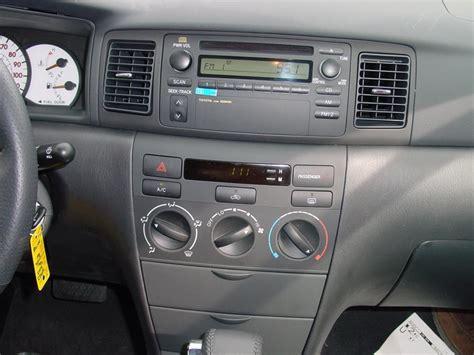 2003 2008 toyota corolla car audio profile
