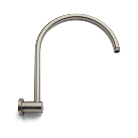 brushed nickel shower arm modern brass shower arm with flange brushed nickel ebay