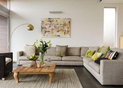 Modulsofa Im Modernen Wohnzimmer Roomido