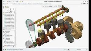 Creo 3 0 Tutorial Mechanism Of Piston Engine   Creo  Pro E
