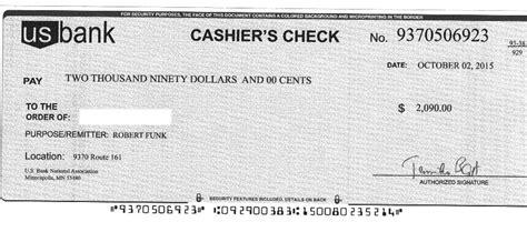 Finally Got A Fake Cashier's Check (agent, Rentals, Bank
