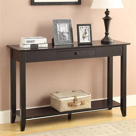 Inexpensive Sofa Tables by Table Accent Your Living Room With Cheap Console Tables