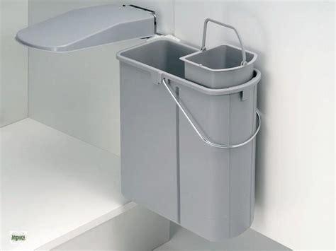 Wesco Abfalleimer Öko Küchen Mülleimer 14+5 L