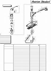 American Standard Indoor Furnishings 4600  Series User