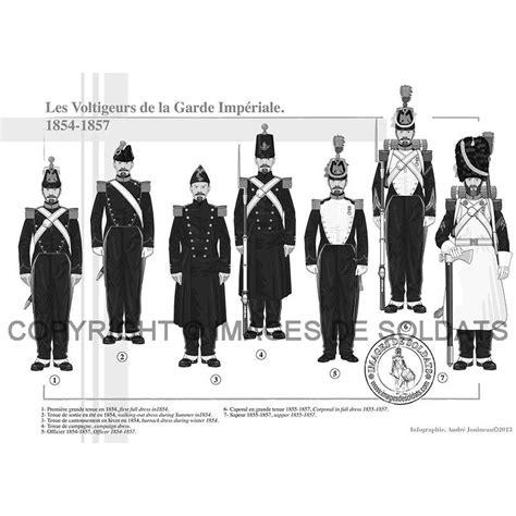 le bureau la garde les voltigeurs de la garde impériale 1854 1857