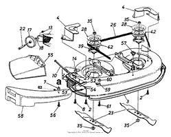mtd ahf  parts diagrams