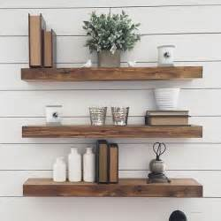 35 floating shelves ideas for different rooms digsdigs - Wall Decor For Bathroom Ideas