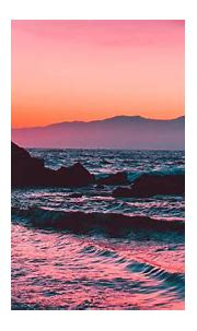 Download wallpaper 1920x1080 rocks, sunset, sea, waves ...