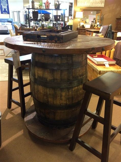 whiskey barrel pub table pinterest the world s catalog of ideas