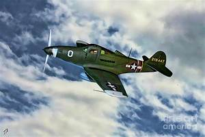 Bell P-39 Airacobra Digital Art by Tommy Anderson